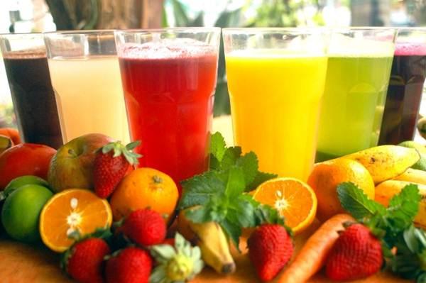 sucos naturais para perder peso