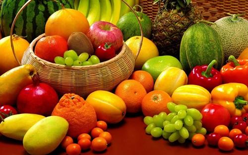 Resultado de imagem para alimentos ricos em vitaminas, minerais, fibras e água
