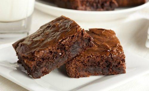 Receitas de brownies saudáveis