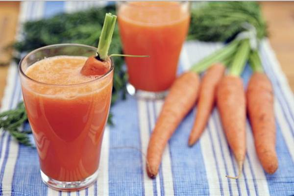 batida de cenoura