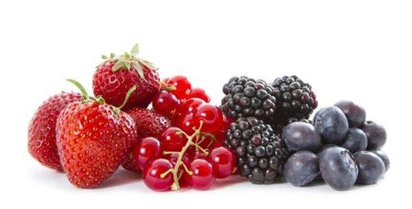 Propriedades das frutas vermelhas