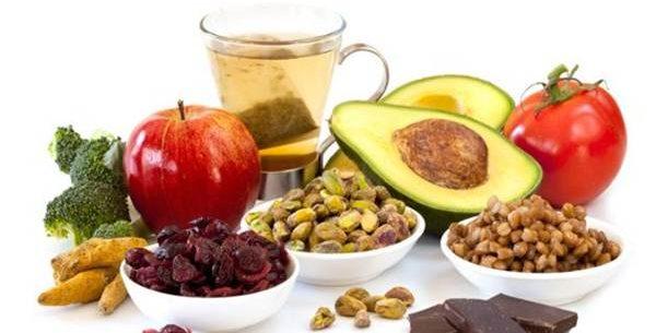 Benefícios de uma dieta rica em antioxidantes
