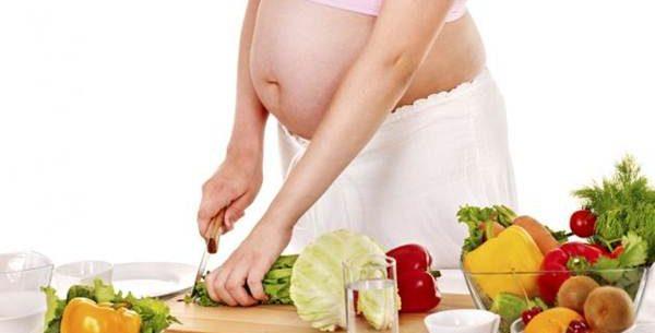 Dieta vegetariana para gravidas