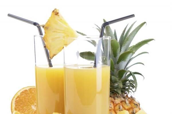 suco refrescante abacaxi
