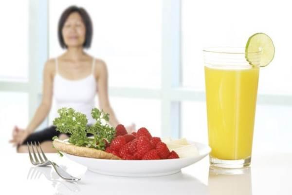 alimentos antes da yoga