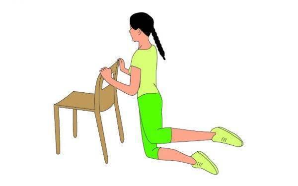 exercicios com cadeira