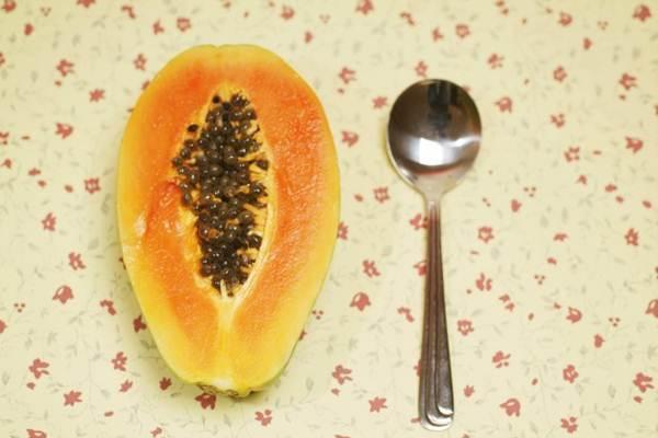 nutrientes do mamão