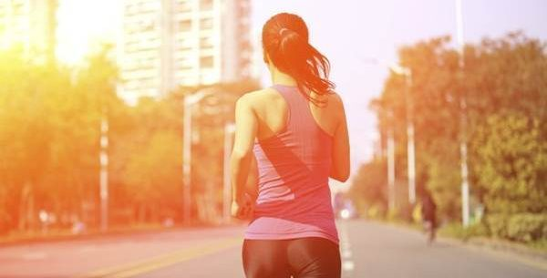 O exercício durante a manhã