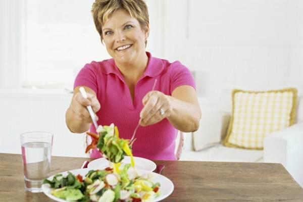 dieta para mulheres acima dos 40