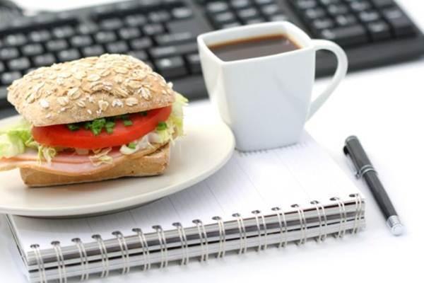 dieta saudavel no trabalho