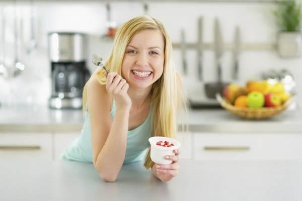 formas divertidas de comer iogurte