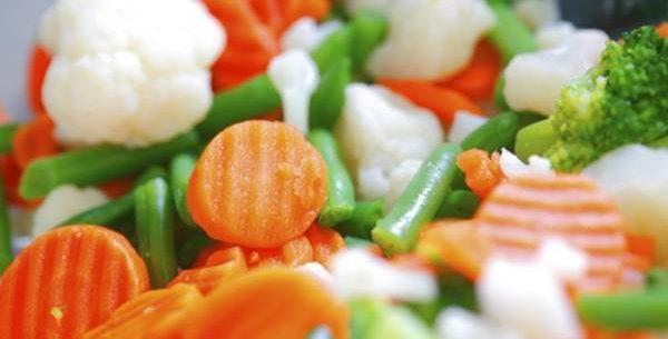 Os legumes cozidos têm mais fibra?