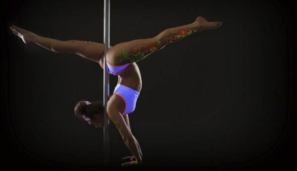 pole dancing para queimar gordura