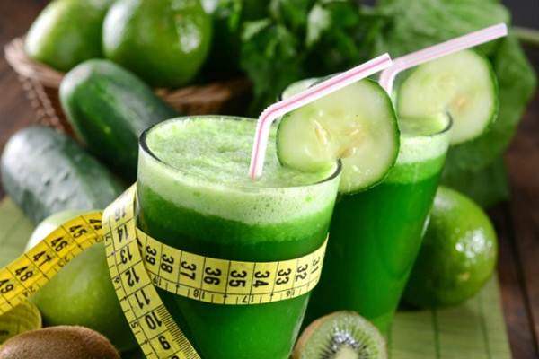 sucos verdes x batidas verdes