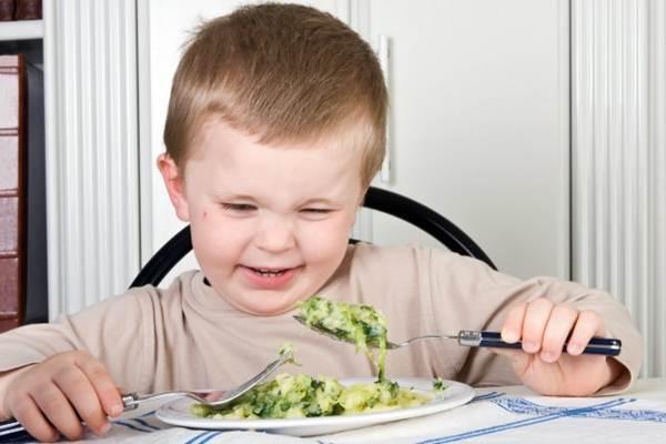 conseguir que as crianças comam vegetais
