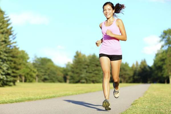 prestar atencao ao correr