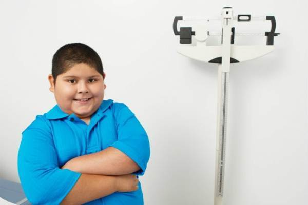 obesidade infantil na familia
