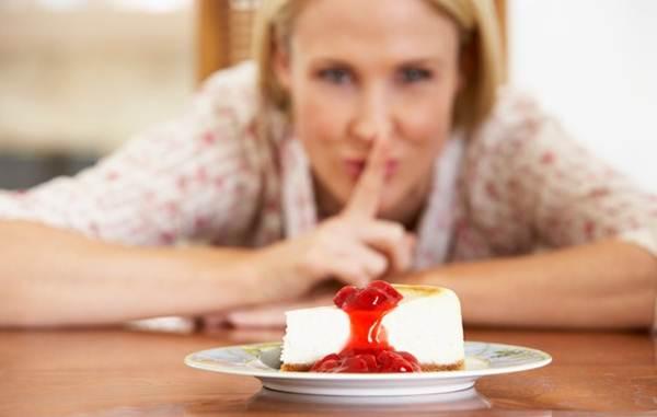 pausa durante a dieta
