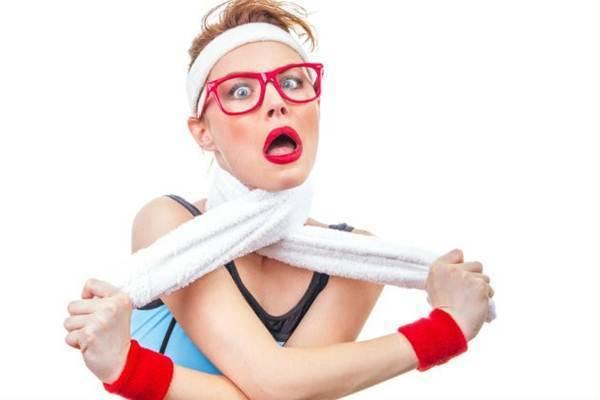 fazer exercicios demais