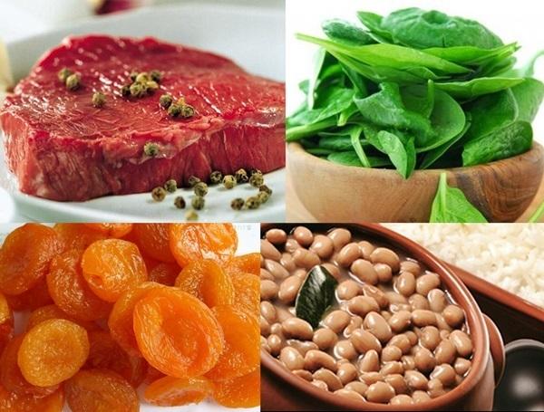 consumir fero na dieta