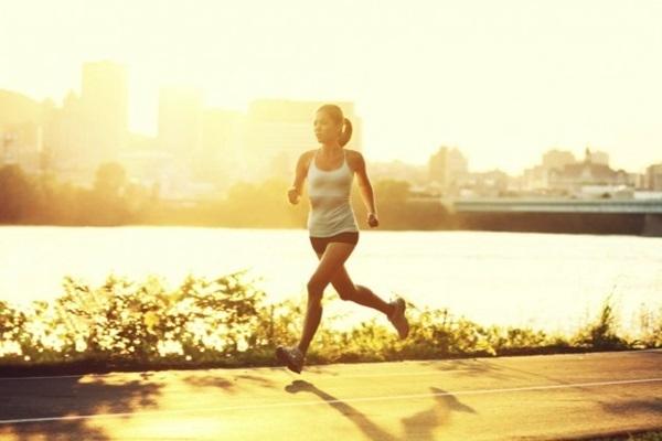 correr em dias quentes