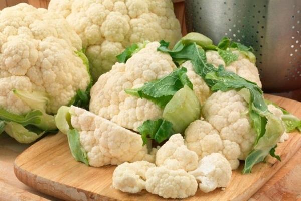 vegetais brancos