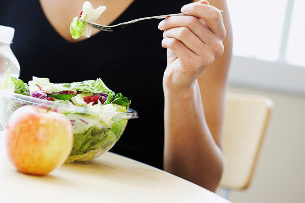 comer de acordo com o metabolismo